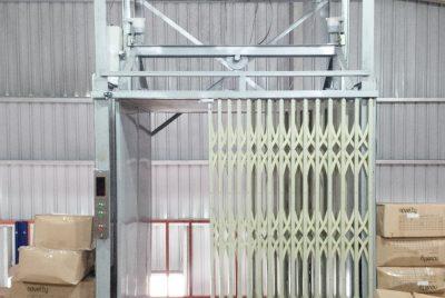 Thang máy tời hàng – Tời tải hàng đơn giản